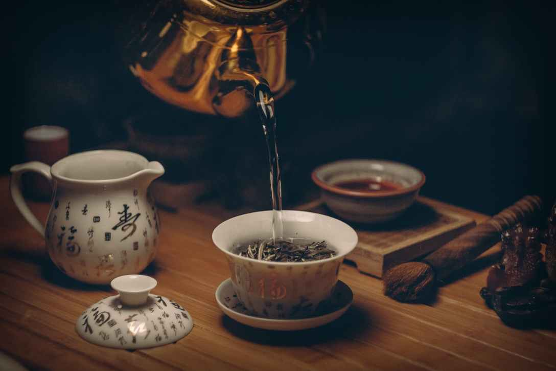 anti-anxiety tea spell